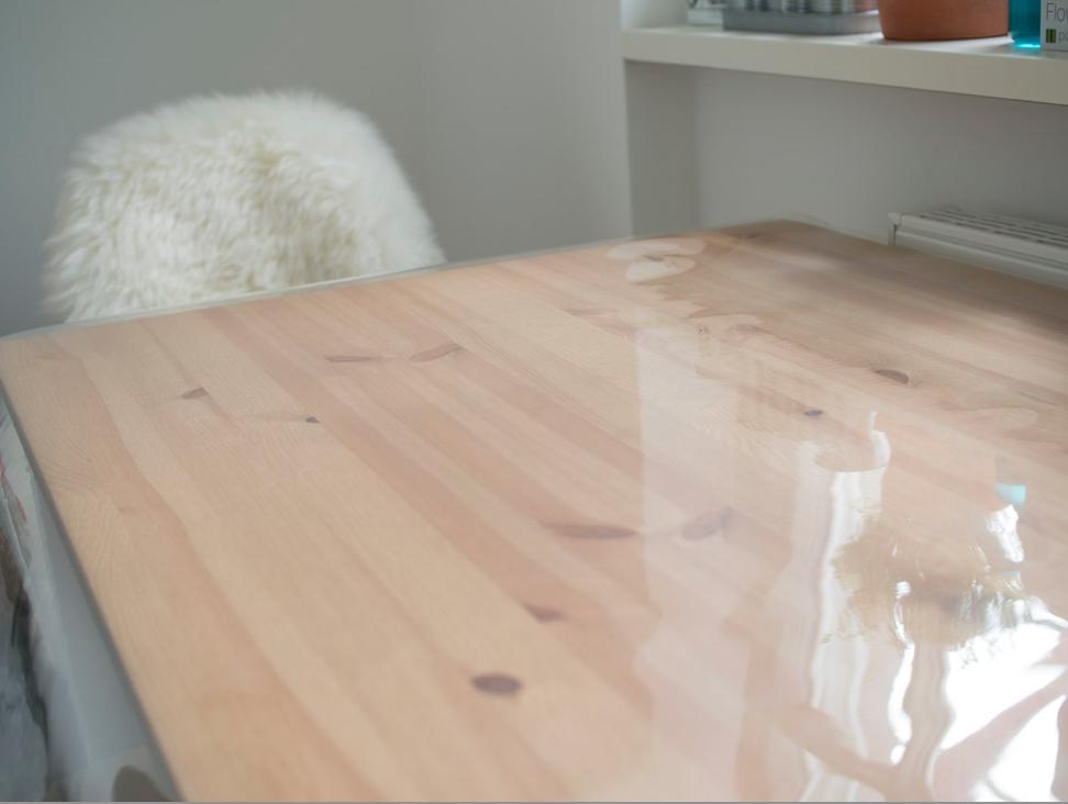 PVC-Tischfolie Tischschutzfolie Lamellenvorhang schneidunterlage tischschutzfolie