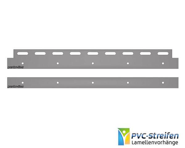Halteklammer 400mm breit als Montagependel PVC Stallvorhang