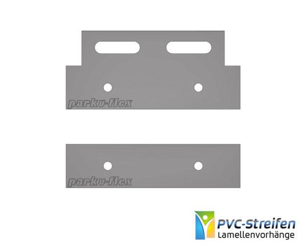 Montagependel 100mm Aufhängung PVC Streifenvorhang
