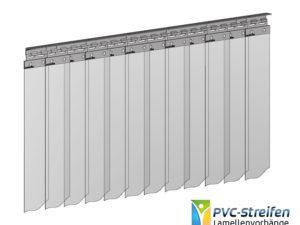 PVC Lamellenvorhang Hundehütte